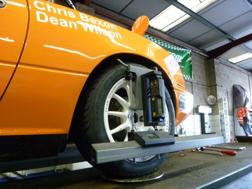 Four Wheel alignment - camber guage