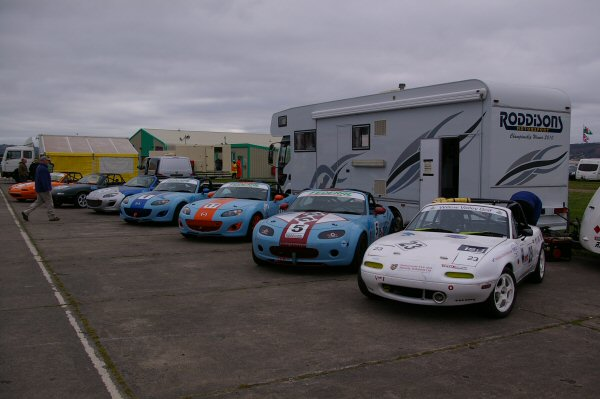 Race Cars For Hire - Mx5 mk1 mk3