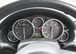 Mx5 Mileage Display