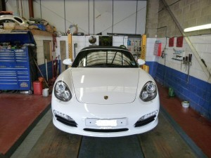 porsche boxter wheel alignment