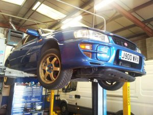 Subaru Impreza Wheel Alignment Service